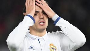 Мората притеснен за бъдещето си в Реал Мадрид