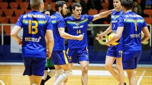Черно море трепери за мача със Славия