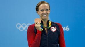 Дана Волмър бременна с второ дете, планира завръщане в басейна