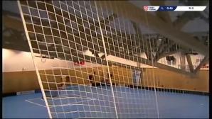 Покривът на зала в Чехия се срути по време на мач по флоорбол (видео)