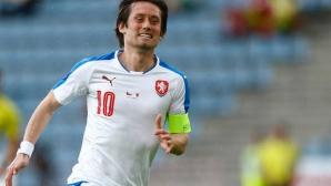 Росицки обмисля завръщане в чешкия национален отбор