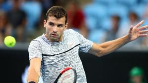 Григор започна на Australian Open с трисетова победа (видео + галерия)