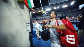 Григор благодари на българските фенове в Мелбърн (видео)