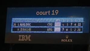 Australian Open, втори ден, резултати