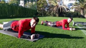 Тежък ден за играчите на ЦСКА-София в Испания