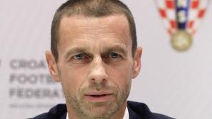 Европейско с 24 отбора е оптимален вариант, убеден е президентът на УЕФА