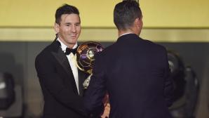Меси: Кристиано е велик играч