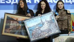 """Елица Янкова е спортист №1, момичетата от ансамбъла са отбор №1 в """"Синя звездна класация"""""""