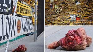 Не простиха на Динамо (Дрезден) за отрязаната глава