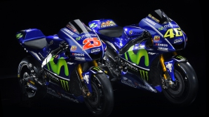 Първи поглед върху машините на Роси и Винялес за сезон 2017 в MotoGP (видео и снимки)