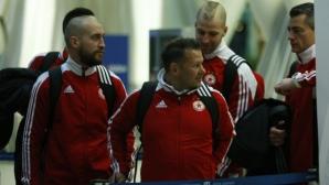 Сняг и студ застигна ЦСКА-София в Испания