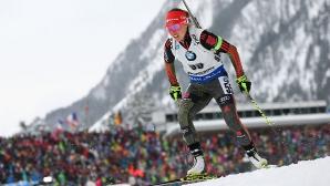Далмайер спечели старта на 15 км в женския биатлон, българките със слабо представяне
