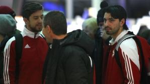 ЦСКА-София промени контролите в Испания