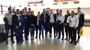 Мирела Демирева надъхва волейболистите на Левски