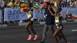 Етиопец, но не Бекеле, спечели маратона на Дубай с рекорд на трасето