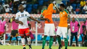 Шампионът Кот Д'Ивоар с ново равенство (видео)