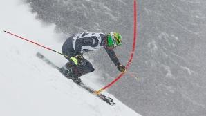 Италианец триумфира за втори път в спускането в Кицбюел
