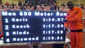 Кениец постави световен рекорд на 600 метра