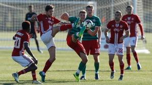 ЦСКА-София - Локо (Москва) 1:1 след груба грешка на Китанов, гледайте мача пряко тук