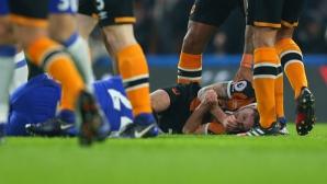 Пострадалият футболист на Хъл Сити вече е в стабилно състояние