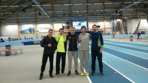 Силно начало в чужбина за атлетите на Христо Стоянов