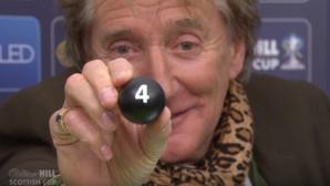 Пийналият Род Стюарт се развихри при тегленето на жребия за Купата на Шотландия (видео)