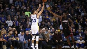 Шампионът Кливланд и вицешампионът Голдън Стейт допуснаха загуби в НБА