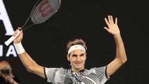 """Блестящ Федерер подчини """"палача"""" на Мъри"""
