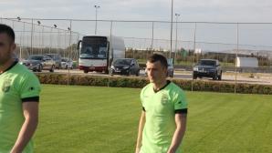 Новият хърватин на Берое получи травма срещу Лех