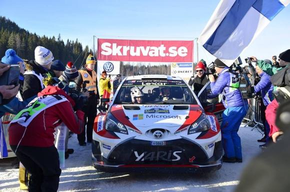 Латвала донесе първия успех на Toyota от '99 г. насам с победа на рали Швеция (Видео)