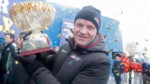 Макинен с емоционален коментар след победата на Toyota в Швеция