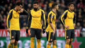 Хиляди фенове на Арсенал се отказаха от билетите си за реванша с Байерн