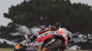 Маркес с най-добро време при дълга серия от обиколки на тестовете в MotoGP