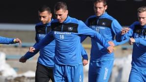 Топчо тръгна с 18 играчи за Благоевград, всички нови пред дебют