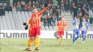 Мицански с първи гол за сезона в Полша, Димитър Илиев с асистенция (видео)
