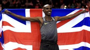 Мо Фара с европейски рекорд на 5 000 метра в Гран при в Бирмингам