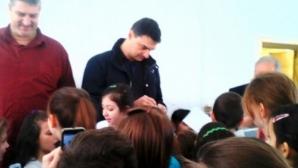 Любо Ганев и Владо Николов на специална среща с ученици в Русе