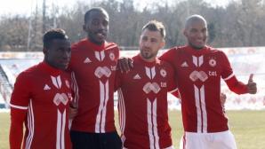 От ЦСКА-София обясниха защо Каранга и Меркадо са извън групата