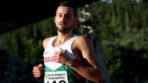 Митко Ценов спечели бягането на 1500 метра на Открития шампионат на Румъния