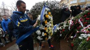 ПФК Левски почете паметта на Апостола (видео)