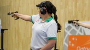 Бонева спечели златото на пистолет на Държавното с пневматично оръжие