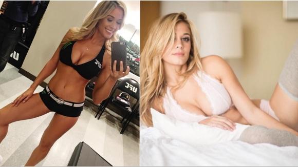 Новото момиче на UFC Лорън Комптън не е за подценяване!