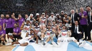 Баскетболният Реал Мадрид отново завоюва Купата на Краля