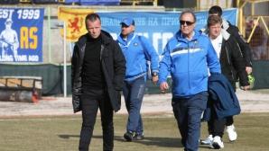 Мишо Вълчев: Още два такива мача и късат новия договор на Топчо