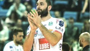 Страхотен Соколов с 20 точки и MVP, Лубе взе дербито във Верона и е №1 в редовния сезон
