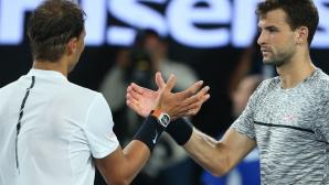 Григор изпревари Надал в ранглистата за сезона