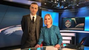 Бербатов пред CNN International: Горд съм от това, което сторих за България (видео)
