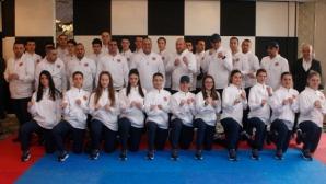 Националите по таекуондо с нови екипи за Европейското първенство в София