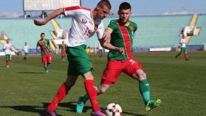 """Гледайте на живо: България """"А"""" - България U21 0:1 (видео)"""