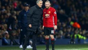 Жозе Моуриньо: Не мога да гарантирам оставането на Рууни в Юнайтед
